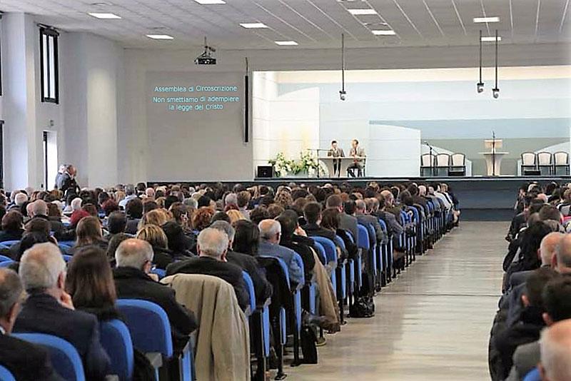 Foto della Sala delle Assemblee di Roma Piazzale Hegel 70